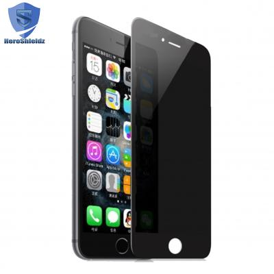 HeroShieldz Privacy Full cover Tempered Glass Screen protector for iPh...
