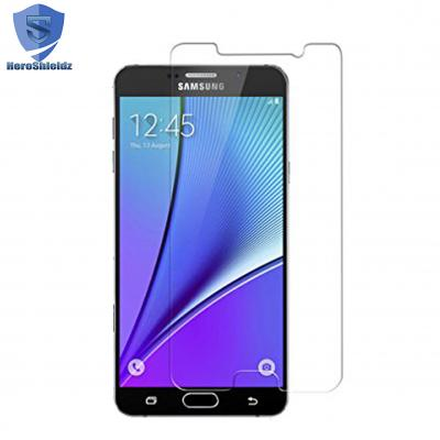 HeroShieldz Galaxy Note 5 Screen Protector 9H Tempered Shatterproof Gl...
